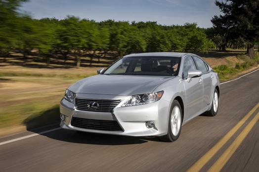 News agencies are reporting that the Toyota plant in Georgetown, Ky., will being making the Lexus ES.