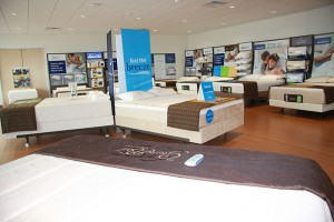 The new Tempur-Pedic headquarters in Lexington has a vast showroom of Tempur-Pedic products. With the acquisition of Sealy, the company is changing its name to Tempur Sealy.