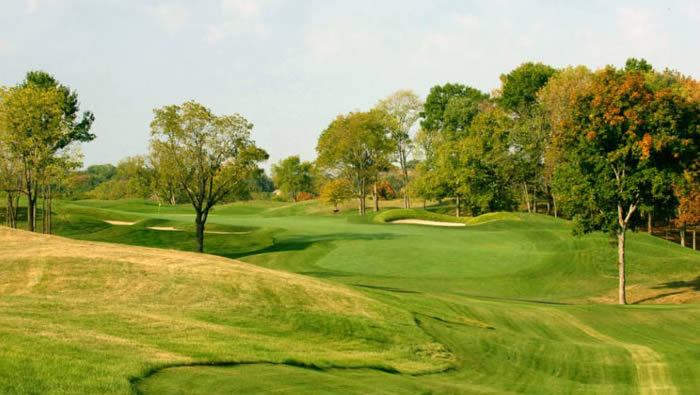 Valhalla Golf Club in Louisville, Ky., will host the 2014 PGA Championship. The club's 17th hole is shown here. (Photo courtesy of Valhalla)