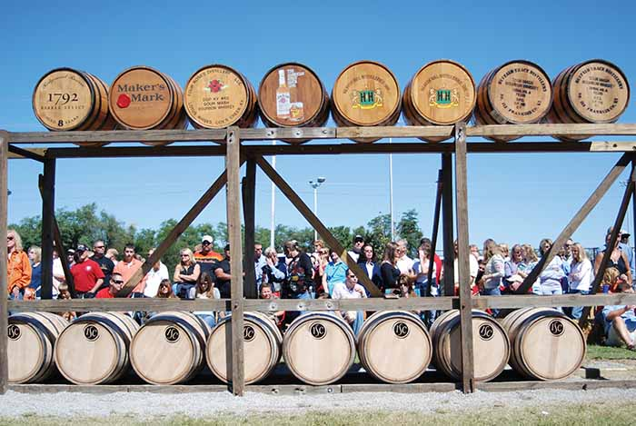 Begun in 1992, the annual Kentucky Bourbon Festival in Bardstown celebrates the state's unique heritage.
