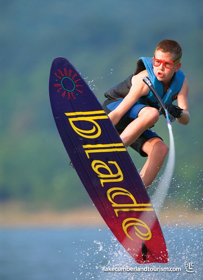 With over 65,530 surface acres, Lake Cumberland is the perfect venue for water sports of all kinds.