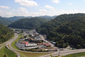 Pikeville, county seat of Pike County, is located in the mountains of southeastern Kentucky.  In 2010, Pike County population was 65,024 in a land area of 786.83 square miles, an average of 82.6 people per square mile. It is the largest county in the state.