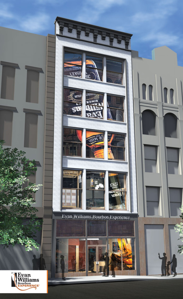 The Evan Williams Experience is scheduled to open this fall in downtown Louisville.