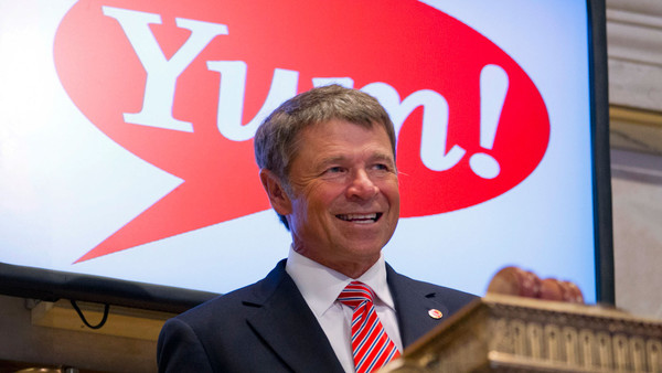 David Novak, CEO of Louisville-based Yum! Brands, will transition to executive chairman of the company on Jan. 1, 2015.