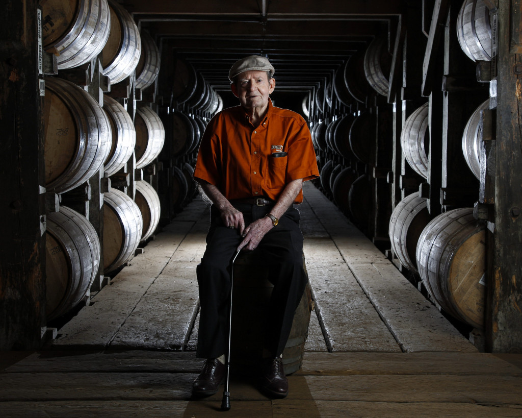 Master Distiller Elmer T. Lee, of Buffalo Trace  photographed on Tuesday  May 14, 2013  in Frankfort, Ky. (Photo by Mark Cornelison, Herald-Leader)
