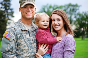 About 28,000 veteran and active-duty military families in Kentucky receive the federal Earned Income Tax Credit or the low-income component of the Child Tax Credit.