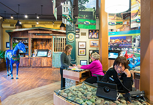 More than 10,000 visitors have stopped by the Lexington Visitors Center to discover more about the tourism offerings in Lexington's Bluegrass Region.