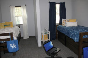 A typical residents' room in Central Hall II.