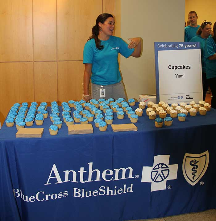 Anthem Blue Cross and Blue Shield celebrates 75th anniversary in