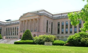 The Capitol Annex Building in Frankfort, Ky.