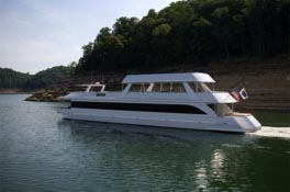 Stardust Cruisers manufactures houseboats in Monticello.