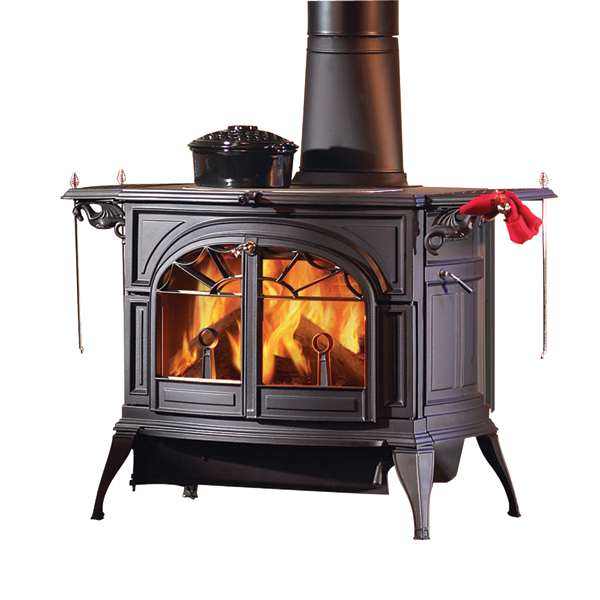 Paris-based Vermont Castings Group produces a full line of both wood-burning stoves and electric fireplaces, as well as outdoor grills and heating products.