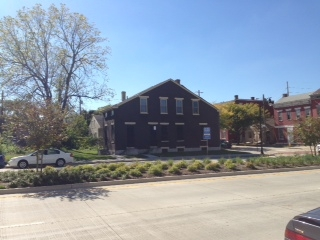 Tract 3: 1208 W. 12th St., corner of Lee and 12th. A 1½-story brick house built about 1905. It is 1,703 s.f.