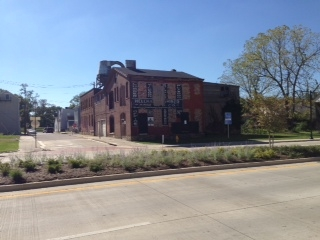 Tract 4: 321-323 W. 12th St.,  corner of Fisk and 12ths. A two-story brick and frame building. It is 13,464 s.ft.