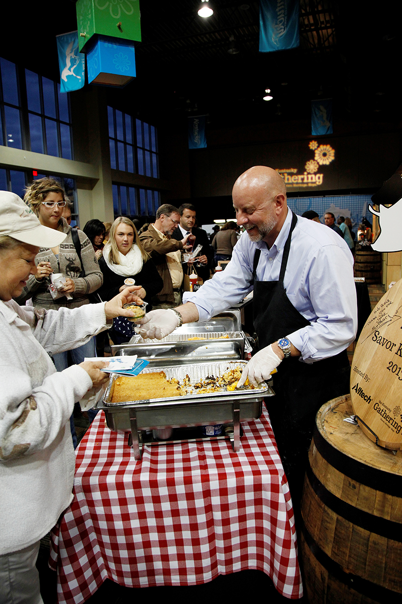 """Nearly 20,000 people gathered at the inaugural six-day Kentucky Gathering at the Alltech Arena in the Kentucky Horse Park from Oct. 29 through Nov. 3. The """"Savor Kentucky"""" food, craft beer and bourbon sampling event drew 1,000 people over two days."""