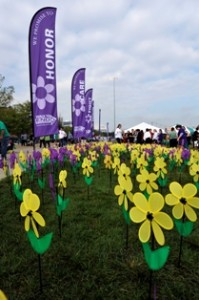The Louisville Walk to End Alzheimer's event was held Sept. 10, at Waterfront Park..