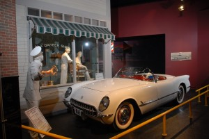 The National Corvette Museum is located in Bowling Green.