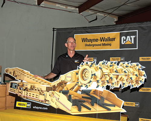 Caterpillar provides equipment for the mining industry that is designed for safety, sustainability and productivity.