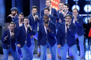 """The acoUstiKats competed on the reality show """"The Sing Off."""""""