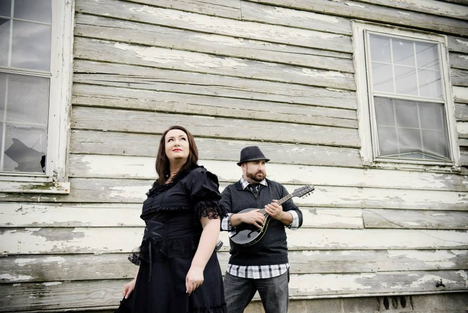"""Siblings Heather and Joel Shepherd of Central Kentucky are using Kickstarter to fund their debut, self-titled album, """"The Coal Flowers."""" (Photo by Allen Clark Photography)"""