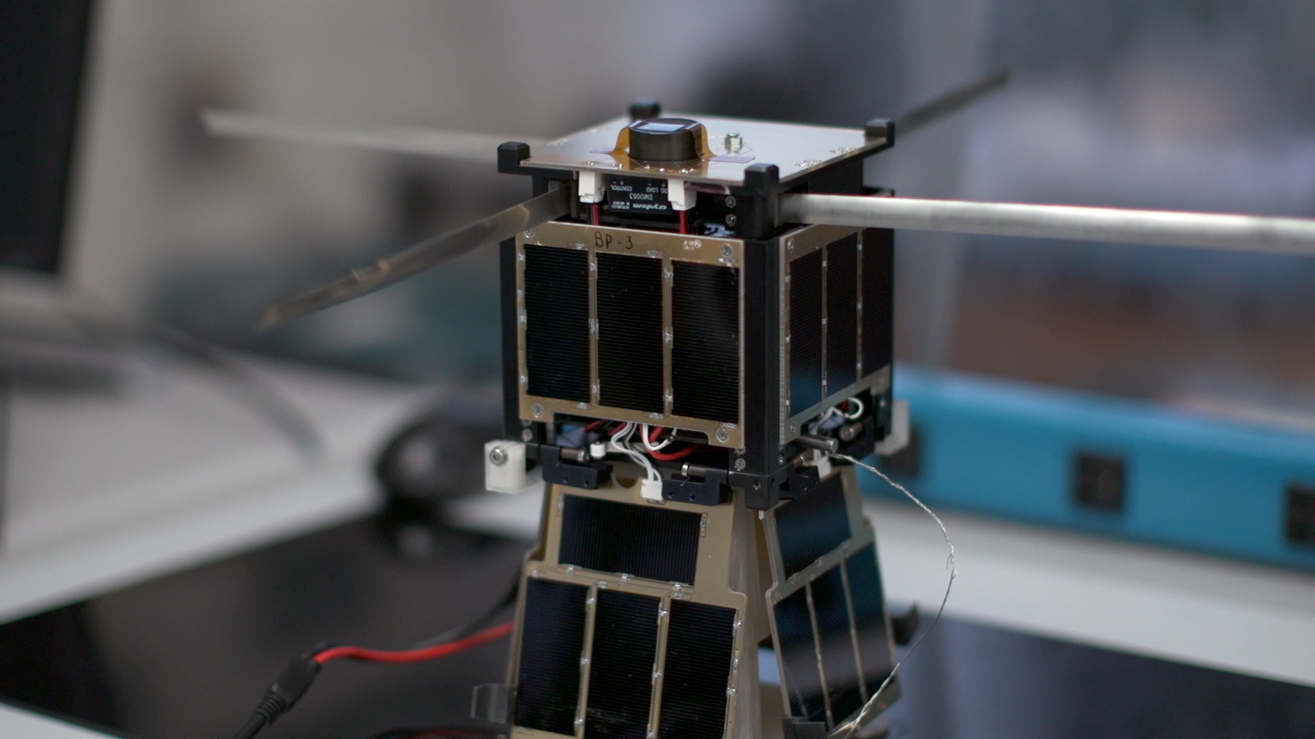 This student-built satellite, dubbed KySat-2, was launched into low-Earth orbit in November 2013.