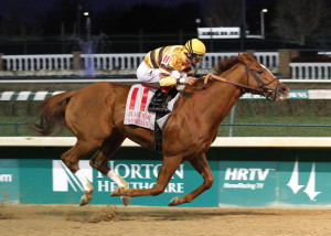 File photo of Wise Dan and jockey John Velazquez (Photo courtesy of Churchill Downs)