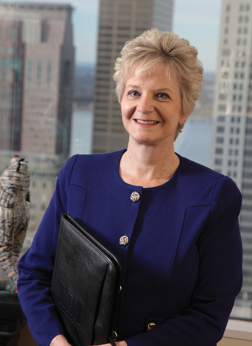 Diane Medley is managing partner of Mountjoy Chilton Medley.