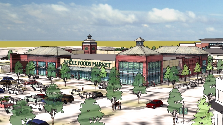 Whole Foods The Summit Lexington Conceptual Store Rendering 3.6