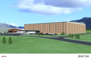 Buffalo Trace Distillery rendering by Gray Constructoin