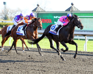 The 90th Running of The Toyota Blue Grass (Grade l)Keeneland Race Course .