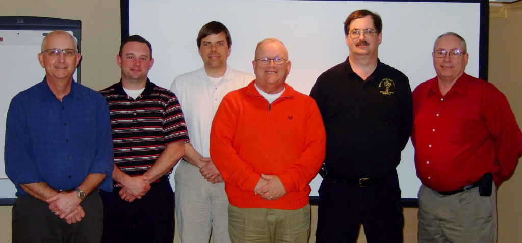 From left, the Kentucky team included Dirk Gowin, Brad Franklin, Brent Webber, Alvin Cook, Robert McCool and Lloyd Jordison.