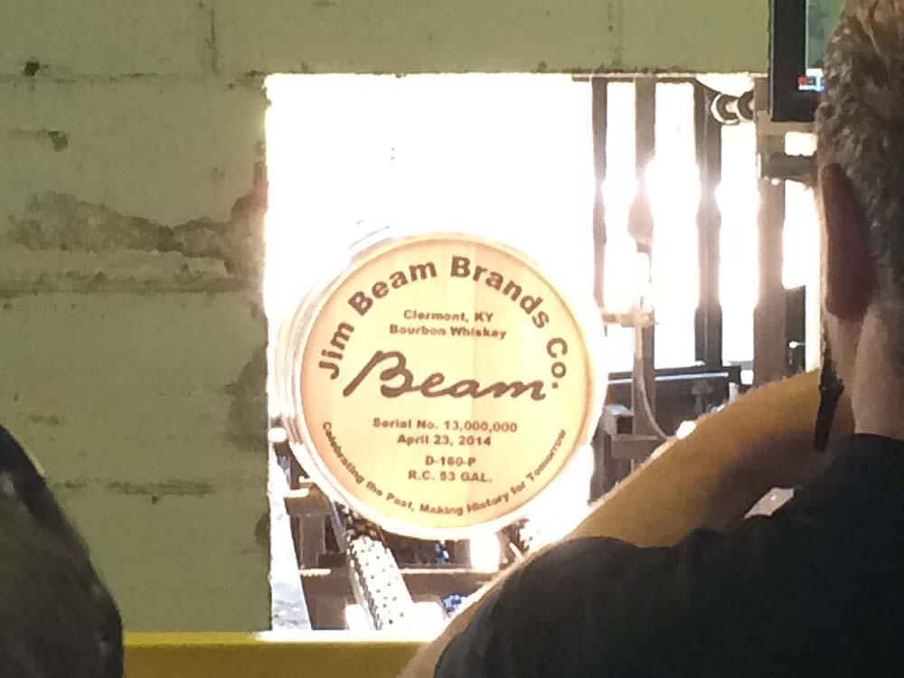 Jim Beam Bourbon on April 23 filled its 13 millionth barrel of bourbon since the repeal of Prohibition in 1933.