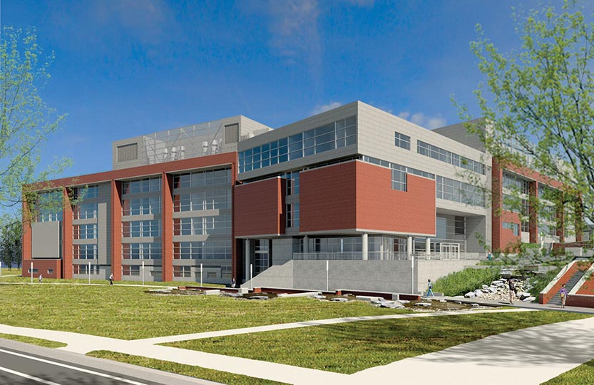 Eastern Kentucky University received $66.3 million in bonds for Phase II construction and completion of its science building.