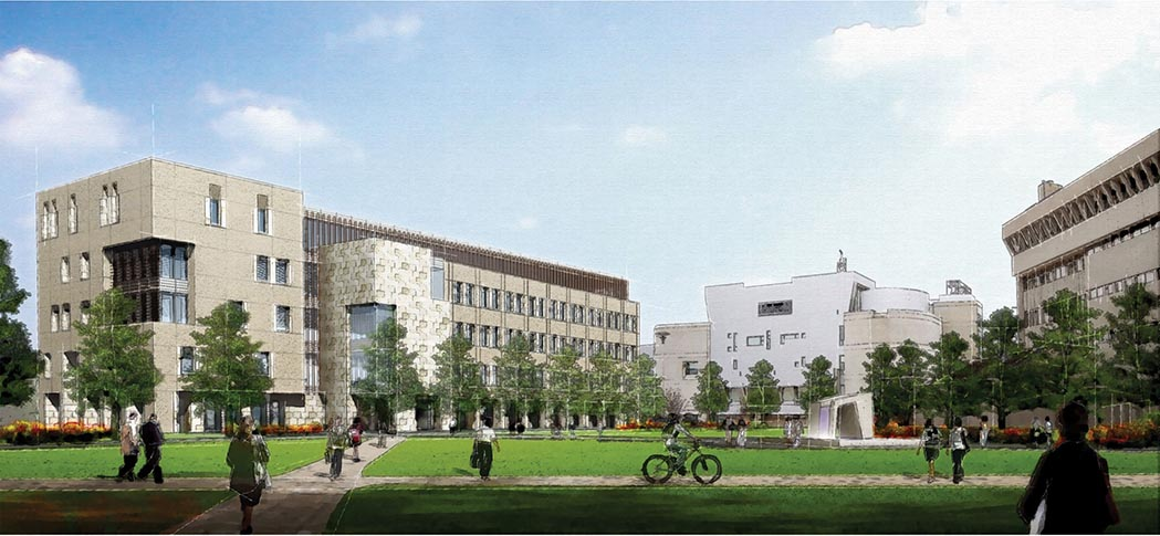The General Assembly approved $97 million in General Fund bonds for Northern Kentucky University's new 125,000-s.f. Health Innovations Center, shown here in a preliminary planning illustration, and renovation of it Old Science Building. NKU's actual new building has not yet been designed.