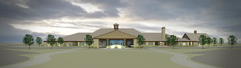 Keeneland's new event center is scheduled to open in July 2015.