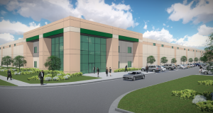 LogistiCenter Louisville will feature 32-feet clear height, 60 dock doors, four drive-in doors, 336 car parking stalls and 73 trailer stalls.
