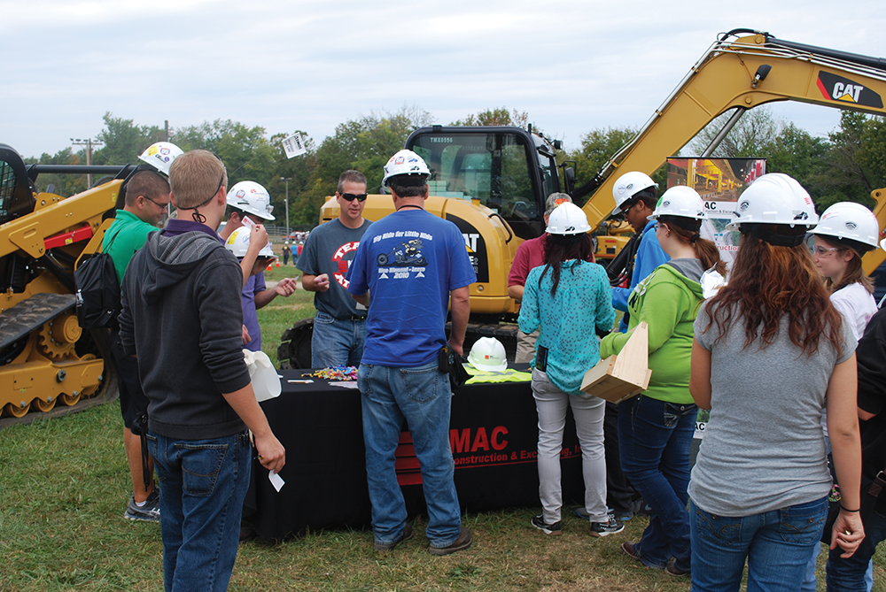 The annual Kentucky Construction Career Fair Days in Shelby County promotes and trains high school students in a variety of special skilled trades jobs.