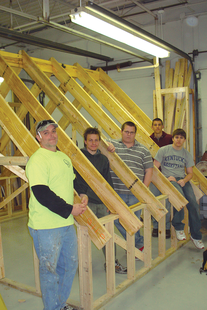 Northern Kentucky's Enzweller Apprentice Training Program is the longest running and one of the largest post-secondary apprenticeship programs in the country under the auspices of the National Association of Home Builders.