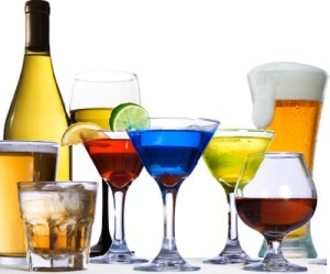 """""""Moderation"""" is defined as an average of one to two drinks per day for men and one drink per day for women. A drink is defined as one 12 oz. beer, 4 oz. of wine, 1.5 oz. of 80-proof spirits, or 1 oz. of 100-proof spirits."""