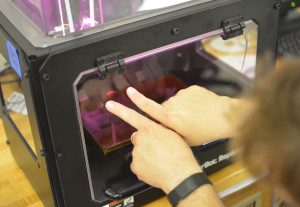 3-D printing is a relatively new technology that allows you to produce a three-dimensional solid object from a digital model.