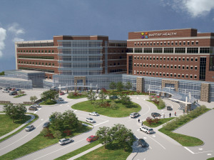 Baptist Health Lexington is currently in the midst of a major expansion. The above rendering shows what the facility will look like upon completion.