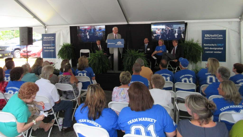 Williamson ARH Hospital in South Williamson, Ky. and Harlan ARH Hospital announced a new affiliation with the University of Kentucky Markey Cancer Center, the state's first and only National Cancer Institute-designated cancer center.