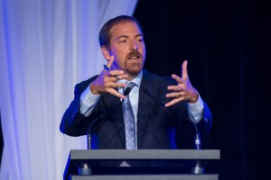 NBC chief political correspondent Chuck Todd speaks at the Kentucky Chamber of Commerce Business Summit and Annual Meeting.