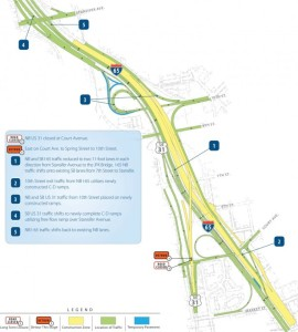 I 65 Construction Indiana Map.Road Construction To Impact Traffic On I 65 In Southern Indiana
