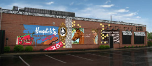 LexArts Lexington Mural Project. A new mural will be  dedicated on Aug. 20.