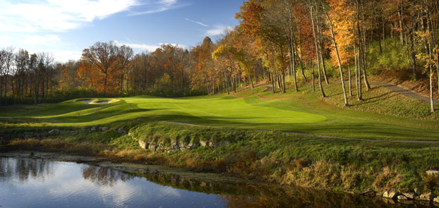 The 96th PGA Championship is being conducted at Valhalla Golf Club in Louisville.