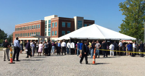 BCTC dedicated the Newtown Campus on Thursday,