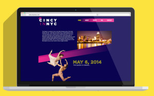 CAI helped create a website for Cincy in NYC.