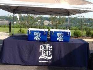 Louisville Water pure tap fill station