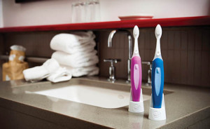 Members of a Louisville-based team that developed the connected Beam Brush toothbrush this year launched Uproar Labs, an Internet of Things consultancy. Bluetooth-enabled and app-connected, the Beam Brush has a six-axis motion sensor that records and provides feedback on users' brushing habits and can automatically order replacements when brushing heads wear down.